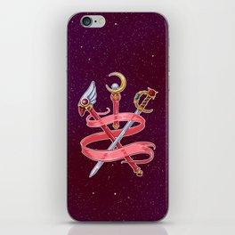 Fight Like a Magical Girl iPhone Skin