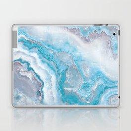 Ocean Foam Mermaid Marble Laptop & iPad Skin