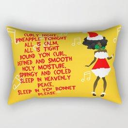 CURLY NIGHT (CHRISTMAS) Rectangular Pillow