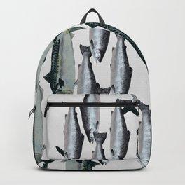 Tuna and Salmon Fish Design Backpack