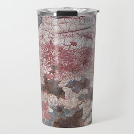 Cracking Paint and Rust Abstract Travel Mug