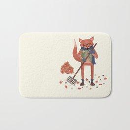 Ferdinand the Fall Fox Bath Mat