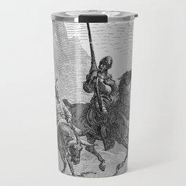 Don Quijote Travel Mug
