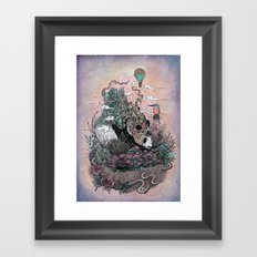 Land of the Sleeping Giant Framed Art Print