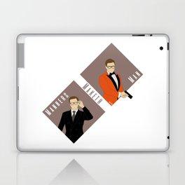 Manners Maketh Man Laptop & iPad Skin