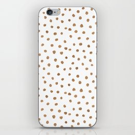 Goldie Dots iPhone Skin