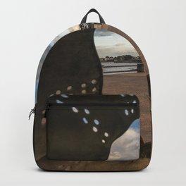 Irish landscape through a shell Backpack