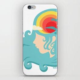 California Dreaming Blue iPhone Skin