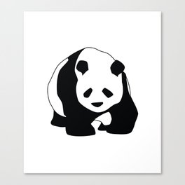 Never say NO TO PANDA Canvas Print