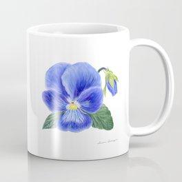Purple Pansy by Teresa Thompson Coffee Mug