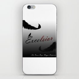 EXCELSIOR | The Raven Cycle by Maggie Stiefvater iPhone Skin