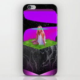 Levitated Thoughts iPhone Skin