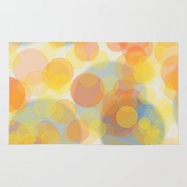 Sunny bubbles Rug