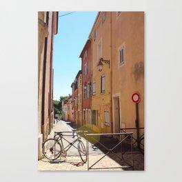 Pretty City Streets Canvas Print