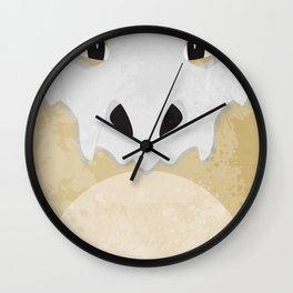 Minimalist Cubone Wall Clock