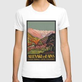 Allevard France - Vintage Travel Poster T-shirt