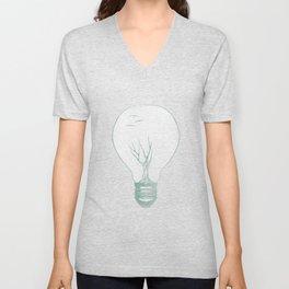 Ideas Grow 2 Unisex V-Neck