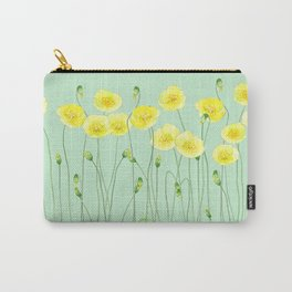 Yellow Wildflowers II Carry-All Pouch