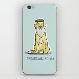 Labradumbledore iPhone Skin