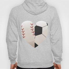 Soccer Baseball Heart Mom - Mothers Day Gifts Hoody