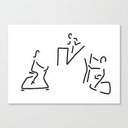 fitness hometrainer crosstrainer sport Canvas Print