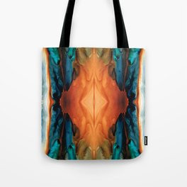 The Great Spirit - Abstract Art By Sharon Cummings Tote Bag