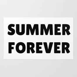 Summer Forever in Black Rug