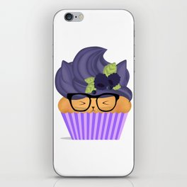 Blueberry Cuppycat iPhone Skin
