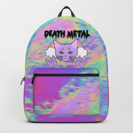 Death Metal Kitty Backpack