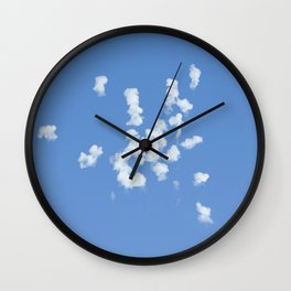 Explotijo (When the clouds make boom!) Wall Clock