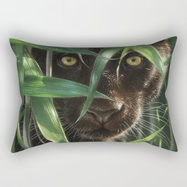 Black Panther - Wild Eyes Rectangular Pillow