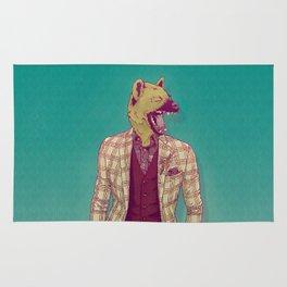 Elwood the Hyena Rug