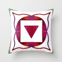 Stabilized Emotions And Thoughtful Feelings Throw Pillow