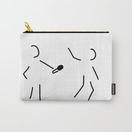 journalist microphone Carry-All Pouch