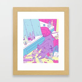 The Adventures of Anubis – Part 2 Framed Art Print