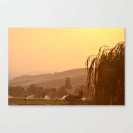 SUNSET OVER EASTERN OREGON Canvas Print