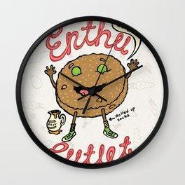 Enthu Cutlet Wall Clock