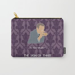The Sign of Three - Greg Lestrade Carry-All Pouch