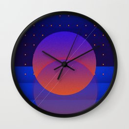 Quiet Morning Wall Clock