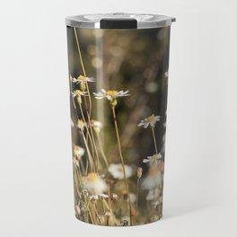 Field of Daisies - Floral Photography #Society6 Travel Mug