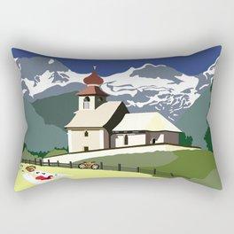 Auer Church Austrian Picnic Rectangular Pillow
