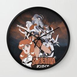 CROSS FIGHT! Dangaioh Wall Clock
