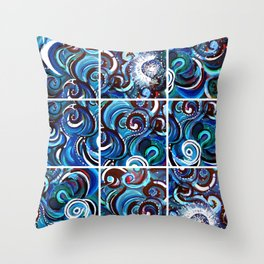 Happy Medley Remix (1) Throw Pillow