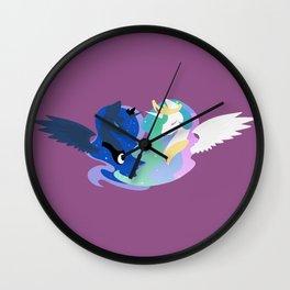 Princesses of Day and Night Wall Clock