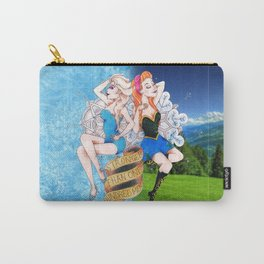 Frozen Hearts Carry-All Pouch