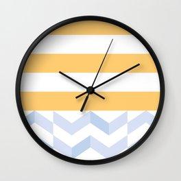 BEACHSTRIPES Wall Clock