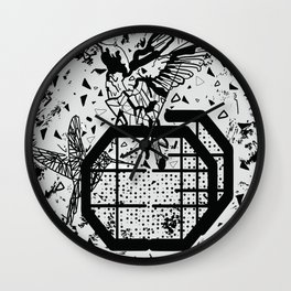 Save the birds Wall Clock