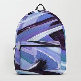 Wavy Blue Backpack