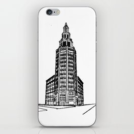the Electric Tower iPhone Skin