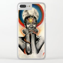 Rediscovery Clear iPhone Case